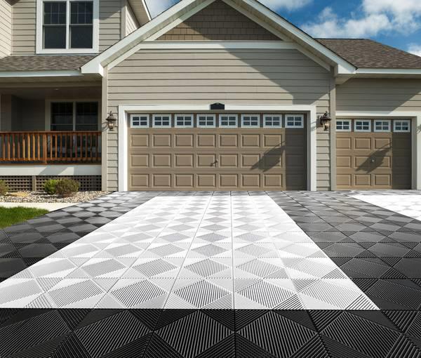 Rip-TEC Bodenfliesen für Garagen und Garagenzufahrten