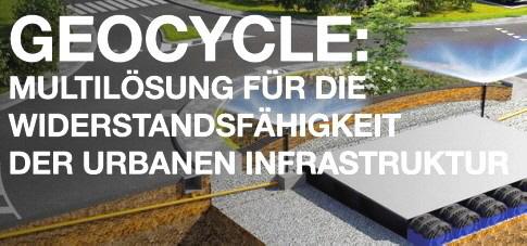 Geocycle: Die multifunktionale Lösung für die Widerstandsfähigkeit der urbanen Infrastruktur