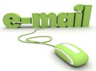 Unsere Kunden können unter Ihrer Domain eine kostenlose E-Mail-Adresse registrieren und über den Web-Browser weltweit  E-Mails empfangen sowie versenden.