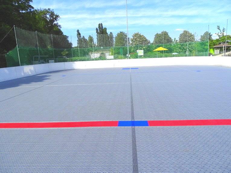 Sportbelag für Inline-Hockey