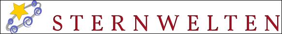 die Homepage des Online Astrologie–Magazins Sternwelten
