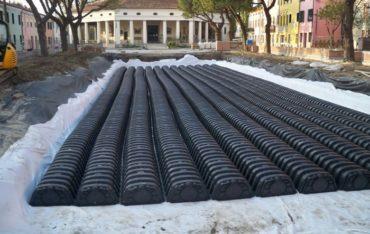 Die Abwasserentsorgung durch Sub-Bewässerung ist ein sehr antikes System.