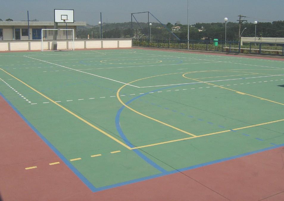 Mit Regupol® Elastikplatten EPDM entstehen hochwertige, dekorative Sport- und Spielflächen
