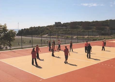 Regupol® EPDM Elastik-Sport-Boden-Platten für Sportbeläge und Spielfeldflächen